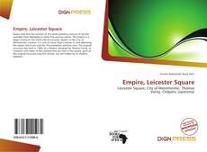 Capa do livro de Empire, Leicester Square
