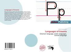 Обложка Languages of Estonia