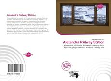 Bookcover of Alexandra Railway Station