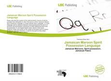 Capa do livro de Jamaican Maroon Spirit Possession Language