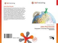 Bookcover of John Paul Goode