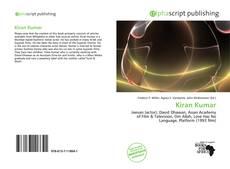 Bookcover of Kiran Kumar