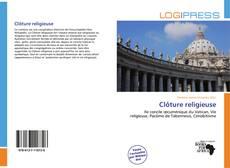 Borítókép a  Clôture religieuse - hoz