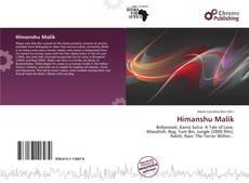 Bookcover of Himanshu Malik