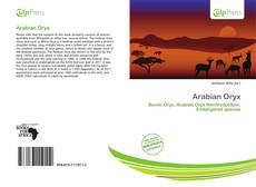 Arabian Oryx kitap kapağı