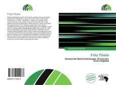 Buchcover von Fritz Thiele