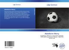 Abdelkrim Merry的封面