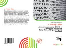 Bookcover of J. Tinsley Oden