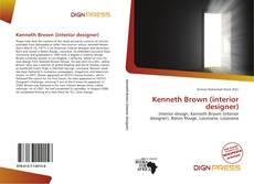 Portada del libro de Kenneth Brown (interior designer)