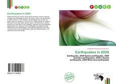 Bookcover of Earthquakes in 2009