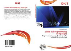 Capa do livro de Little b (Programming Language)