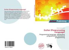 Portada del libro de Escher (Programming Language)