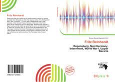 Bookcover of Fritz Reinhardt