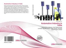 Bookcover of Automotive Industry in India