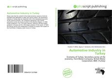 Обложка Automotive Industry in Turkey