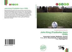 Portada del libro de John King (Footballer born 1938)