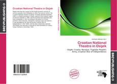 Bookcover of Croatian National Theatre in Osijek