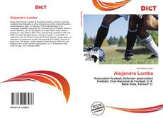 Bookcover of Alejandro Lembo