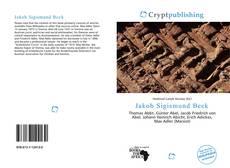 Portada del libro de Jakob Sigismund Beck