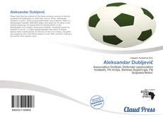 Portada del libro de Aleksandar Dubljević