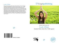 Bookcover of Luck (film)
