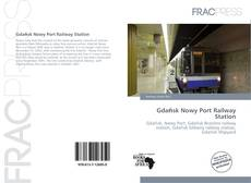 Bookcover of Gdańsk Nowy Port Railway Station