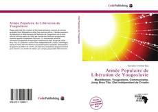 Capa do livro de Armée Populaire de Libération de Yougoslavie