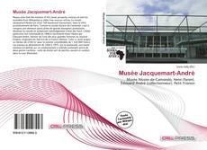 Bookcover of Musée Jacquemart-André
