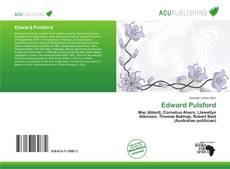 Buchcover von Edward Pulsford