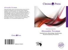 Buchcover von Alexander Fersman