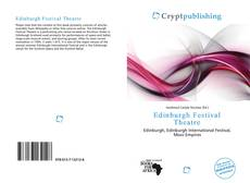 Bookcover of Edinburgh Festival Theatre