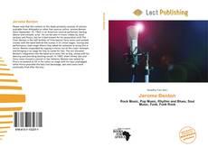Jerome Benton kitap kapağı