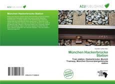 München Hackerbrücke Station kitap kapağı