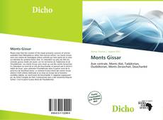 Bookcover of Monts Gissar