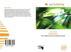 Buchcover von Hove Park