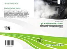 Llys Halt Railway Station kitap kapağı
