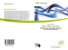Bookcover of Mull Little Theatre