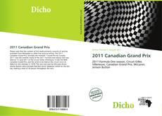 Capa do livro de 2011 Canadian Grand Prix