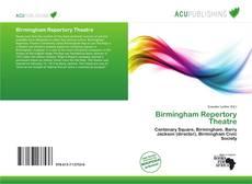 Bookcover of Birmingham Repertory Theatre