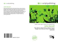 Bookcover of John Darvall