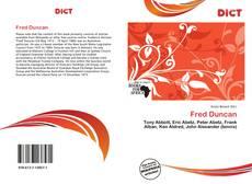 Fred Duncan的封面
