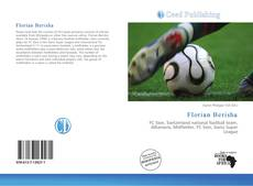 Florian Berisha kitap kapağı