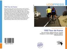 Bookcover of 1992 Tour de France