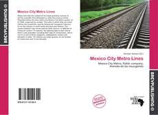 Portada del libro de Mexico City Metro Lines