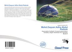 Bookcover of Mohd Zaquan Adha Abdul Radzak