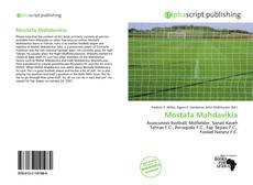 Bookcover of Mostafa Mahdavikia