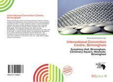 Bookcover of International Convention Centre, Birmingham