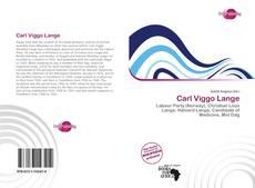 Capa do livro de Carl Viggo Lange