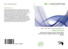 Buchcover von Morris Ernst