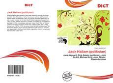 Bookcover of Jack Hallam (politician)